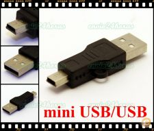 Ficha adaptador conversor USB mini USB TV, PC, Satélite