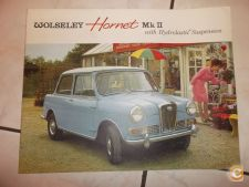 Wolseley Hornet MkII With Hydrolastic Suspension/Morris