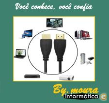 cabo com 5 metros HDMI HD-Box, PS3, XBOX 360 Blu-Ray DVD