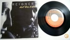 "FOREIGNER heart Turns To Stone 7""Single"