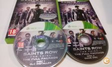 Saints Row The Third The Full Package - Como novo - XBOX 360