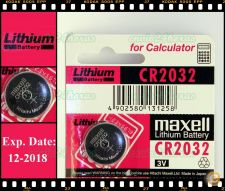 Pilha Maxell CR2032 CR 2032 3V Lithium Motherboaed