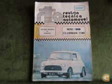 Revista Tecnica Automovel Nº 27 Mini 1000 Clubman 1100