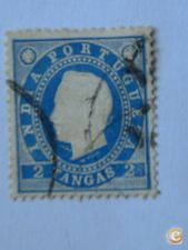 W- 284- INDIA ex.colonia  selo nº 136  dent. 13/5    2,99