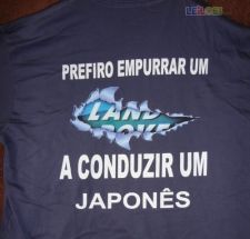 T-shirt LAND ROVER - XL