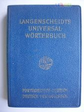 Langenscheidts Universal Worterbuch Port-Deutsch