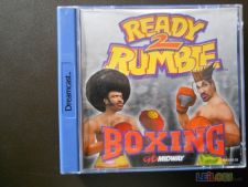 READY 2 RUMBLE BOXING Caixa excelente Dreamcast xr COMPLETO