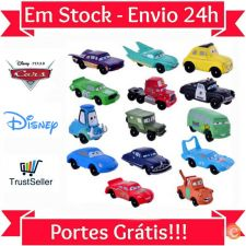 LU124 Cars Kit 14 Miniaturas Lightning McQueen Carros Disney