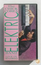 Cassete VHS - THE CHICK COREA ELEKTRIC BAND LIVE IN MADRID.