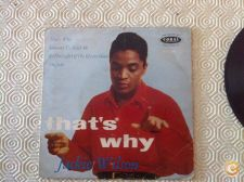 "Vinil EP 7"" Jackie Wilson That's Why (I Love You So)"