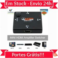 L39 Switch Splitter Tripla 3 portas HDMI Full HD 1080P 24H