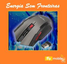 Rato sem fios 2.4 GHz  Optical Gaming Mouse Wireless