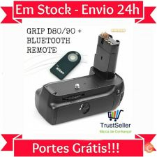 L54 NIKON D80 D90 GRIP + OFERTA Bluetooth Remote em Stock