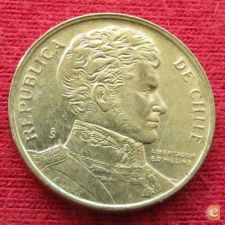 Chile 1 peso 1988 KM# 216.2