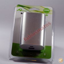 Power Bank Carregador Bateria Externa 5200 mAh Stock