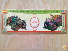 GUINE EQUATORIAL - CARROS  FORD