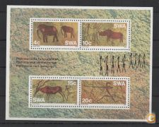 SOUTH WEST AFRICA BLOCO NOVO 1976 VER