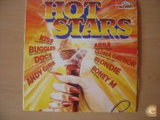 "Disco Vinil LP – ""HOT STARS"" – Anos 80"