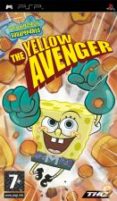 Jogo PSP - SpongeBob Squarepants The Yellow Avenger