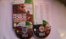 Medal of Honor Warfighter Limited Ed.- Bom estado - XBOX 360