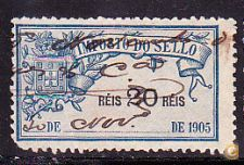 1905 - IMPOSTO DO SELLO - 20 Réis