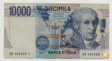 ITALY 10000 LIRE 1984 PICK 112 VER SCANS