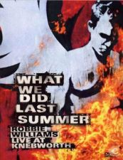 Robbie WILLIAMS What We Did Last Summer DVD Duplo 2003