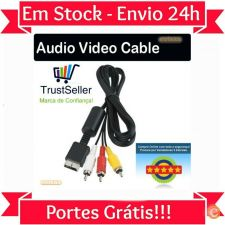 L215 Cabo AV RCA PlayStation 2 3 PS1 - PS2 - PS3 Entrega 24H