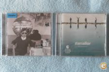 Pack 2 CD Starsailor *All the plans*Silence is easy* SELADOS