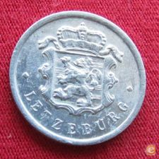 Luxemburgo 25 centimes 1967 KM# 45a.1 Luxembourg