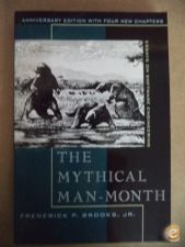 The mythical man-month - Frederick P. Brooks, JR.