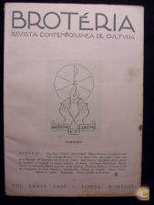 BROTÉRIA - REVISTA CONTEMPORÂNEA DE CULTURA (VOL. 36) 1943