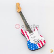 Iman  Guitarra USA Flag