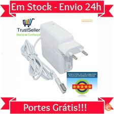 "L452 Carregador Apple Macbook Pro 13"" 60W NOVO  Em Stock 24h"
