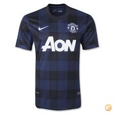 Camisola alternativa Manchestet United 2013-14