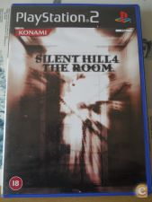 SILENT HILL 4 IV, THE ROOM xr como NOVO, ps2