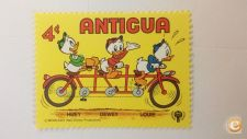 ANTIGUA - SCOTT 566  BICICLETAS       ( DISNEY )