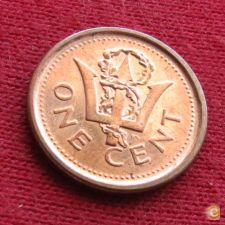 Barbados 1 cent 2009 KM# 10b   *V