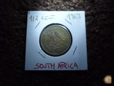 FO 10 AFRICA DO SUL 1/2 CENT 1963
