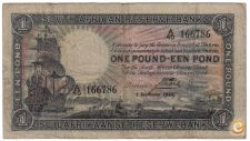 AFRICA DO SUL SOUTH AFRICA 1 RAND 1935 PICK 84 VER SCANS
