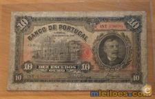 9096 PORTUGAL 10$00 1925 DIFICIL