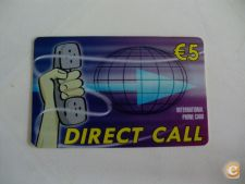 Cartão Telefonico/Credifone Direct Call - 5 Euros