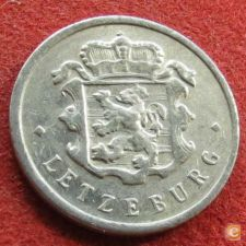 Luxemburgo 25 centimes 1972 KM# 45a.1 Luxembourg