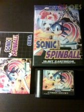 SONIC SPINBALL md COMPLETO
