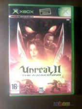 UNREAL II 2, THE AWAKENING, XBOX, COMPLETO!