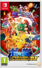 NINTENDO SWITCH POKKEN TOURNAMENT DX POKEMON  NOVO E SELADO