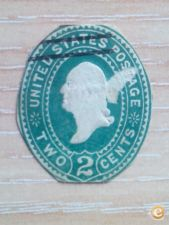 USA - SCOTT    2 CENTS  VERDE