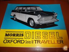 MORRIS DIESEL Oxford Desdobravel/Brochura Original