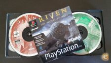 RIVEN THE SEQUEL TO MYST PS1, COMPLETO (5 CD's)