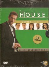 DR.HOUSE AS 3 1ªS SERIES 18 DISCOS-NOVO E SELADO